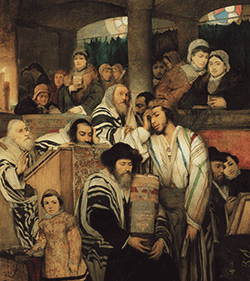Gottlieb-JewsPrayingInTheSynagogue1878